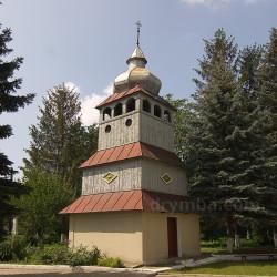 Дерев'яна дзвіниця церкви Успіння Богродиці