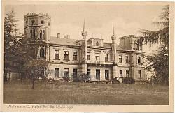 Палац Дунін-Борковських у Мельниці-Подільській. Старе фото