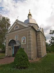 Церква св.Юрія у селі Окопи