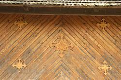 Оформлення стін дерев'яними планками