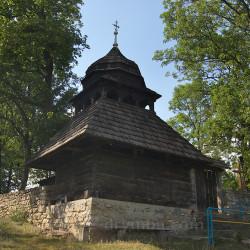 Сапогів. Дзвіниця церкви св. Миколая