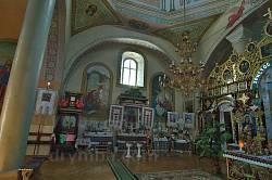 Церква Покрови Пресвятої Богородиці у селі Кривче. Інтер'єр