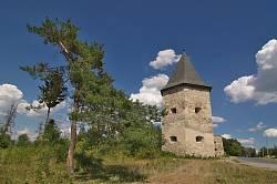 Замок Контських у Кривче. Поштівка