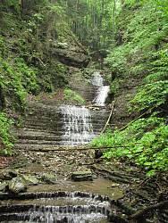 Водопад Под Комином Верхний