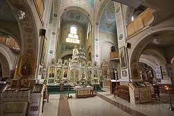 Інтер'єр церкви Введення у Храм Пресвятої Богородиці