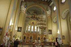 Костел Найсвятішого Серця Ісуса. Інтер'єра