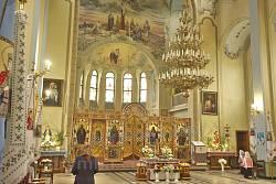 Церковь Святейшего Сердца Иисуса на микрорайоне Рясне. Интерьер