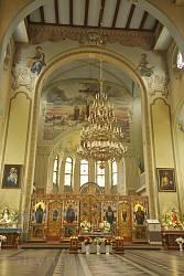Интерьер костела Святейшего Сердца Иисуса на Каменке