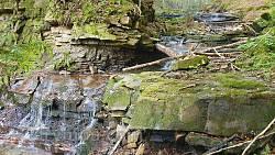 Яремче. Багровецький водоспад