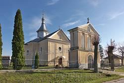 Комплекс церкви Воздвижения Честного Креста в селе Городилов