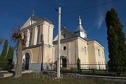 Городилов. Церковь Воздвижения Честного Креста с колокольней