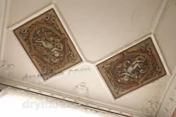 Декоративные панели на потолке