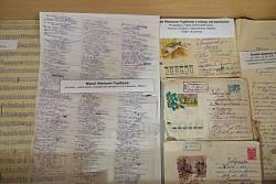 Рукописи стихов, письма Николая Горбаля времен заключения