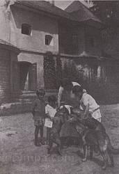 Литячи. Имение Краснопольских. Фото до 1939 года.