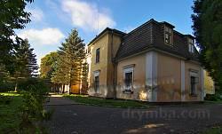 Дворец Дзедушицких в Неслухове. Вид на правое крыло