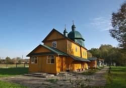 Брахівка. Церква Різдва Пресвятої Богородиці