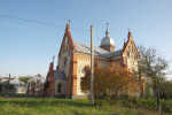 Соколівка. Церква Вознесіння Господнього (колишній костел)