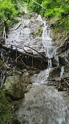 Водоспад Дзеркальний у селі Соколівка