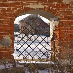 Фрагмент арочной ограды